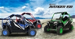 CARB Approved BMS 150cc UTV Avenger-150 Air+Oil cooling, Auto+Reverse, w/ Windshield & Roof lights