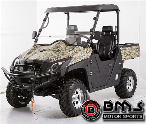 BMS Ranch Pony 800 UTV  800cc VTWIN Engine EFI System     Electric       Dump       Bed   WinchHitch  Large