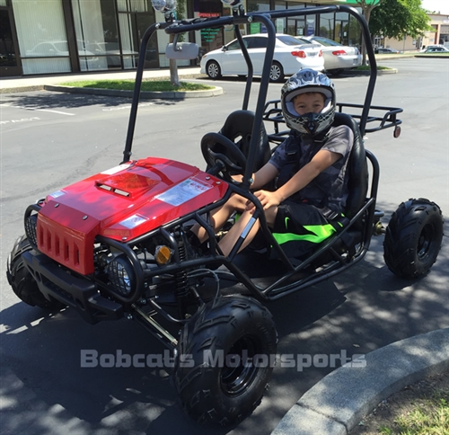 Tao Tao Quot Jeep Auto Quot 110cc 2 Seater Youth Go Kart Automatic
