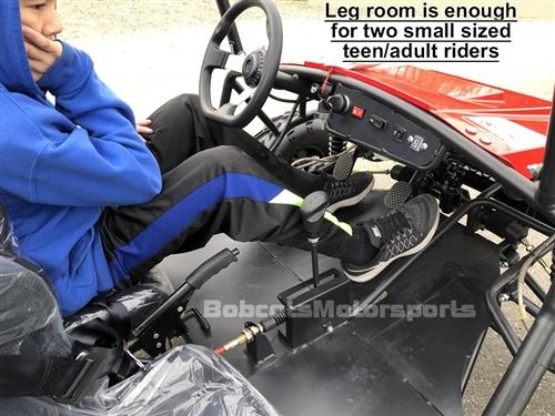 "Go Kart Racing Pa >> Tao Tao ""Jeep Auto"" 110cc 2 Seater Youth Go Kart Automatic ..."