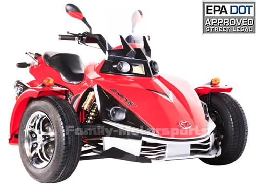 2012 Spider 250cc Motor Trike Moped Scooter Automatic