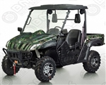 60% Assembled BMS Ranch Pony 600cc EFI UTV 37hp 2WD/4WD Selectable with 4 Wheel Disc Brake, Stereo, Windshield, Hard roof. Free shipping to home.