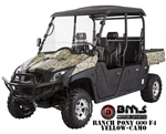 92%~100% Assembled BMS Ranch Pony 600cc EFI UTV 33hp 2WD/4WD Selectable with 4 Wheel Disc Brake, Stereo, Windshield, Hard roof. Free shipping to home.