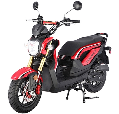 taotao 50cc moped scooter zummer 50 fully automatic w. Black Bedroom Furniture Sets. Home Design Ideas
