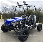 """JeepMax"" 110cc 2 Seater Go Kart Semi Automatic 3 speed with Reverse F&R Disc Brakes ATK-125A. Free shipping to your door, free helmet."