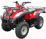 CANYON 250cc Air Cooled Utility Quad ATV with Mcpherson Suspension System, Shaft Driven Semi Automatic 5 Speed with Reverse ATV-115-250. Free shipping to door including a free helmet. 6 month bumper to bumper warranty.