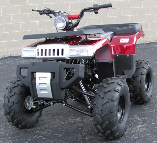 "125cc Atv For Sale >> TAOTAO ""Big Hummer"" 125cc ATV w/ Heavy Duty Bumper & Racks, Remote & 19"" Tires ATV-125E"