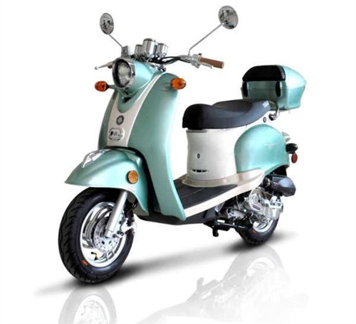 Carb Approved 2015 Bms 50cc Federal 50 Moped Scooter 99 9