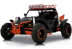 "Fully assembled 2018 BMS Sniper EFI 1500cc 2-Seater Dune Buggy; 108 HP, Water Cooled; 5 Speed with Reverse; 85 mph; Shaft Driven; Winch/Tow Hitch/Stereo/29"" Mammoth Tires/Full LED Lighting, Free shipping, free helmet. Free 1 year powertrain warranty."