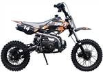 "TAOTAO 110cc Pit Bike Semi Automatic 3 Speed, Kick Start, 30 mph, 12""/14"" Tires, Dual Disc Brakes (DB14). Free shipping to your door. Free helmet. 6 month warranty. EPA, DOT, CARB Approved for all 50 States."