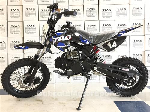 TAOTAO 110cc Pit Bike Semi Automatic 3 Speed Kick Start 30 Mph