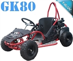 "Near fully assembled TAO TAO GK80 80cc Single Seater Youth Go kart Fully Automatic, 6"" Tires. High Quality LIFAN Engine. FREE SHIPPING, FREE HELMET"
