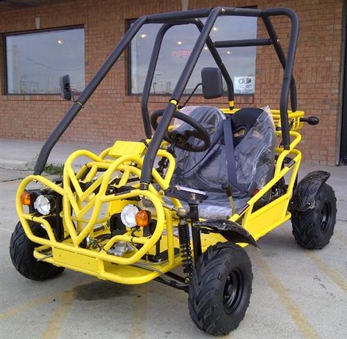 KD-GK110-49FM5 110cc 2 Seater Go Kart Semi Auto 3-speed with Reverse