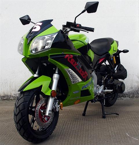 Assembled Roketa 150cc Street Sport Bike Fully Automatic Cvt Dual