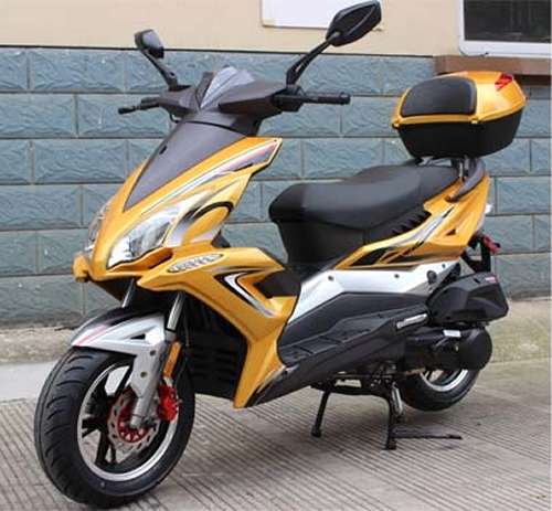 roketa 150cc scooter with 12 dot tires all new body design led style lights mc 48 150. Black Bedroom Furniture Sets. Home Design Ideas