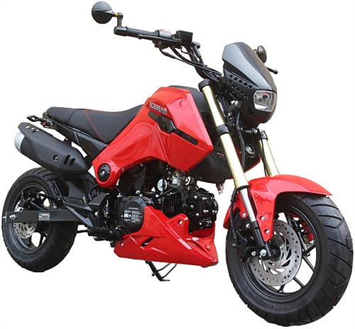 85 assembled ice bear 125cc street bike motorcycle air. Black Bedroom Furniture Sets. Home Design Ideas