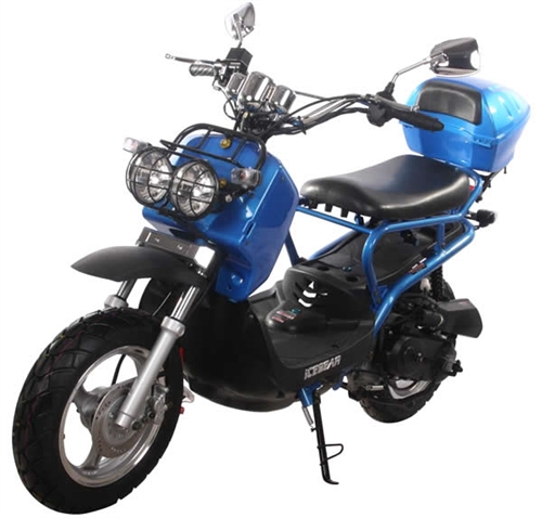 NEW! ICE BEAR 50cc Moped Scooter with 12