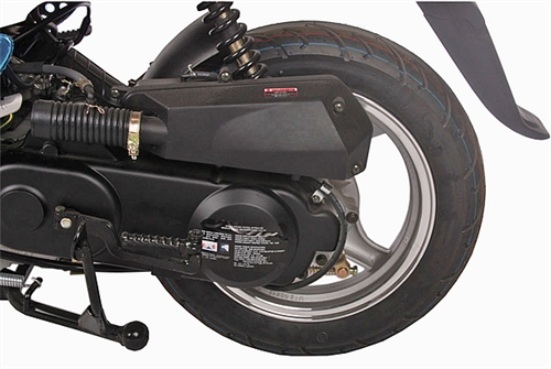 New Ice Bear Ace 50cc Moped Scooter With 12 Quot Big Tires