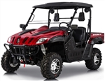 BMS Ranch Pony 600cc EFI UTV 37 HP 2WD/4WD Switchable, P/R/N/L/H, 4 Wheel Disc Brake, Bluetooth, Stereo, Windshield, Hard roof