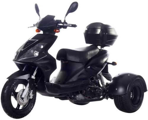 Ice Bear SPORTY 50cc Motor Trike Moped Scooter PST50-8