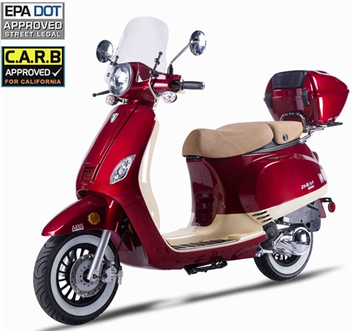 znen vpa 50cc scooter with windshield remote start anti theft rh bobcatsmotorsports com znen 50cc scooter parts Vespa 50Cc Scooter