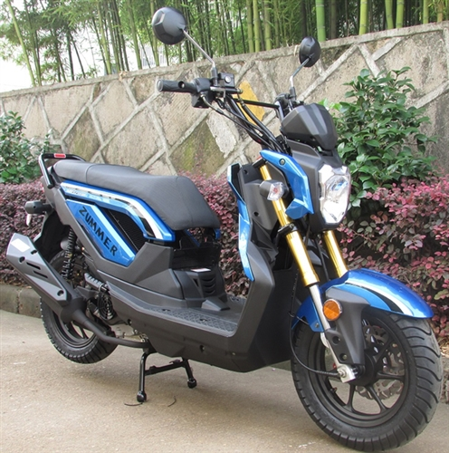 Taotao 50cc moped scooter zummer 50 fully automatic w durable colors black sciox Gallery
